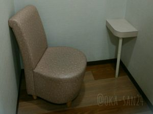 インフォメーションセンター内の授乳室