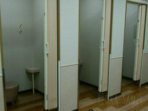 インフォメーションセンター内のベビールーム