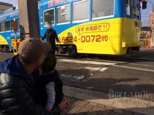 住吉大社 初詣 チンチン電車