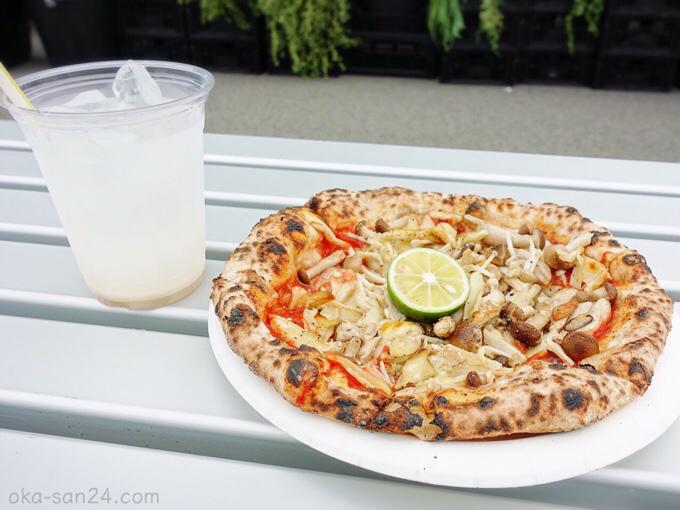 Kinari Pizza きのことすだちピザ