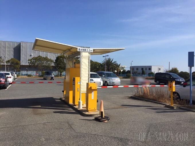 須磨ヨットハーバー駐車場
