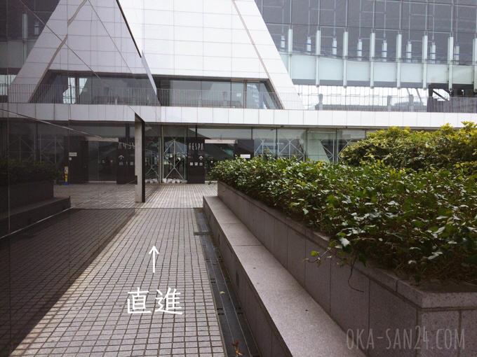 大阪咲洲庁舎入口