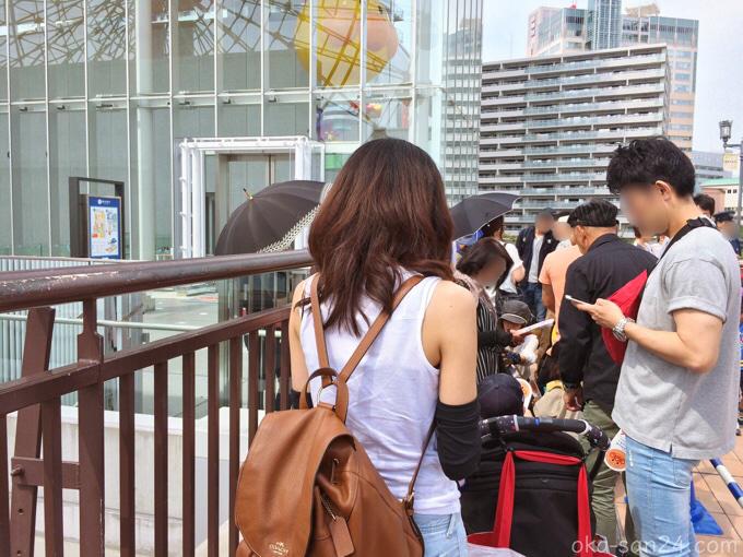 神戸アンパンマンミュージアム行列
